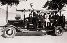 20657 Ladderwagen van de brandweer Vlissingen