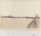 21968 Grote schutsluis gezien vanuit het westen met rechts het meteorologisch observatorium