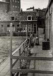22007 Binnenplaats van het hofje de Pauw, te bereiken via het poortsteegje aan de Beursstraat.