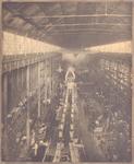 22404 Interieur machinefabriek (1882) ven de Koninklijke Maatschappij de Schelde (KMS) in Vlissingen
