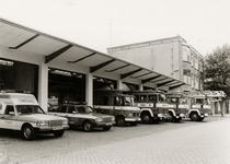 27307 Een deel van het wagenpark van de Vlissingse brandweer voor de kazerne aan de Van Dishoeckstraat in Vlissingen