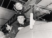 27870 J.H. Lute viert zijn 40-jarig jubileum bij de brandweer te Vlissingen