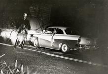 28209 Auto botst achter op vrachtwagen op de Westsouburgseweg, ter hoogte van de Baskensburgweg.