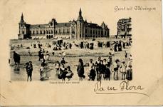 2913 'Grand Hotel met strand. Groet uit Vlissingen'Badstrand en Grand Hotel des Bains (later Britannia) op Boulevard ...