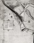 29263 Linkerhelft van een handschriftkaart van 1570 door P. Corn. Poel, landmeter der Grafelijkheid van Zeeland. ...