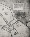 29264 Rechterhelft van een handschriftkaart van 1570 door P. Corn. Poel, landmeter der Grafelijkheid van Zeeland. ...