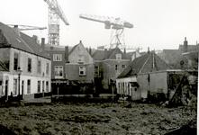 34479 Sanering van de oude binnenstad.Zicht op Erve Bok, het hofje van het Handboogschuttersgilde, genummerd Walstraat no.75.
