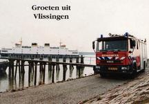 34737 Groeten uit Vlissingen Veerboot Vlissingen - Breskens Stadsgewestelijke Jeugdbrandweer Post Vlissingen, Van ...