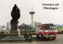 34739 Groeten uit Vlissingen Michiel de Ruyter Stadsgewestelijke Jeugdbrandweer Post Vlissingen, Van Dishoeckstraat ...