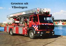 34740 Groeten uit Vlissingen Binnenhaven Stadsgewestelijke Jeugdbrandweer Post Vlissingen, Van Dishoeckstraat 131, 4381 ...