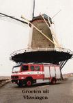 34742 Groeten uit Vlissingen Oranjemolen Stadsgewestelijke Jeugdbrandweer Post Vlissingen, Van Dishoeckstraat 131, 4381 ...