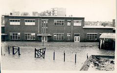 34966 Stormvloedramp 1953. Na het doorbreken van de zeewering in Vlissingen tussen het leugenaarshoofd en de ...