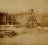 35806 Kanaal-, haven-, sluis- en spoorwegwerken. Feestelijk in gebruik genomen op 8-9-1873. De opening werd verricht ...