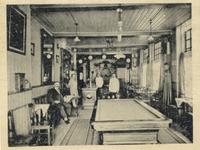 37836 Interieur café De Karseboom , Bellamypark 26. Eigenaar J.F. de Bruijne