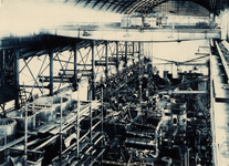 3975 Interieur machinefabriek in Vlissingen uit 1882