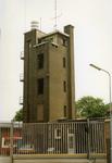 43142 Achterzijde van de brandweerkazerne aan de Van Dishoeckstraat, gezien vanaf de Van de Spiegelstraat in ...