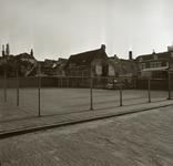 43375 Sloop van het politiebureau in de Breestraat in Vlissingen, bouwjaar 1910 en nieuwbouw in de Molenstraat, hoek ...