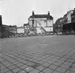 43376 Sloop van het politiebureau in de Breestraat in Vlissingen, bouwjaar 1910 en nieuwbouw in de Molenstraat, hoek ...