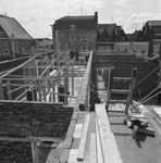 43409 Sloop van het politiebureau in de Breestraat in Vlissingen, bouwjaar 1910 en nieuwbouw in de Molenstraat, hoek ...