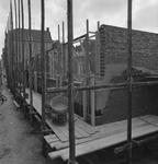 43410 Sloop van het politiebureau in de Breestraat in Vlissingen, bouwjaar 1910 en nieuwbouw in de Molenstraat, hoek ...