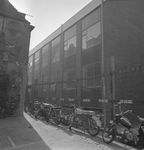 43411 Sloop van het politiebureau in de Breestraat in Vlissingen, bouwjaar 1910 en nieuwbouw in de Molenstraat, hoek ...