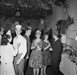 46650 Interieur Joop's snackbar , Bellamypark 4. Kerstviering of oudejaarsavond?