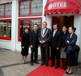49581 Chinees Indisch restaurant Da-Xin, Beursplein 5 en Beursplein 9. Officiële opening op 1 dec. 2008 van het ...