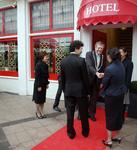 49582 Chinees Indisch restaurant Da-Xin, Beursplein 5 en Beursplein 9. Officiële opening op 1 dec. 2008 van het ...