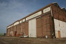 52447 Sloop van de gebouwen op het terrein van de Koninklijke Scheldegroep in Vlissingen. De machinefabriek anno 1919 ...