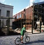 53601 Sloop van het politiebureau in de Breestraat in Vlissingen, bouwjaar 1910 en nieuwbouw in de Molenstraat, hoek ...