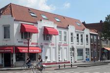 59330 Winkelpand van elektronicazaak Techno Janssen, Scheldestraat 82 te Vlissingen, op de hoek met de Van der ...