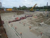 59539 Bouw van een nieuwe grote zaal bij bioscoop CineCity in Vlissingen aan de Spuikomweg 1. Het bestaande ...