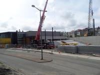 59541 Bouw van een nieuwe grote zaal bij bioscoop CineCity in Vlissingen aan de Spuikomweg 1. Het bestaande ...