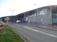59544 Bouw van een nieuwe grote zaal bij bioscoop CineCity in Vlissingen aan de Spuikomweg 1. Het bestaande ...