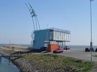 59585 Dijkpaviljoen De Punt op de punt van de Eilanddijk (havendam) aan het eind van de Piet Heinkade te Vlissingen ...