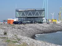 59586 Dijkpaviljoen De Punt op de punt van de Eilanddijk (havendam) aan het eind van de Piet Heinkade te Vlissingen, ...