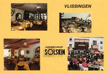 8592 'Vlissingen café-restaurant Solskin' Vier afbeeldingen van café-restaurant Solskin op Boulevard Bankert 58 ...