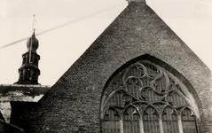 9791 Gedeelte van de gevel van de St. Jacobskerk.