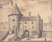 1119 Het gevangen huys tot Vlissingen [gevangentoren en Westpoort]