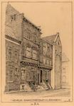 1158 Gevels Sarazijnstraat Vlissingen [vanaf de hoek Nieuwstraat]
