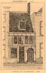 1181 Groenewoud No 72 serie 1 : Gevel te Vlissingen 1625 [vooraanzicht]