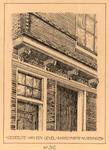 1204 Gedeelte van een gevel - Sarazynstr [Sarazijnstraat] Vlissingen