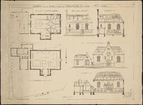 1337 Ontwerp voor eene kerk ten behoeve der Doopsgezinde Gemeente te Vlissingen