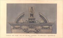 1480 Gedeelte der poort van het Militair Hospitaal Vlissingen (Korenstraat)