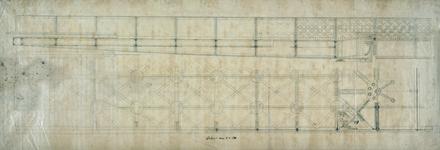 152 [Technische tekening van een brug]