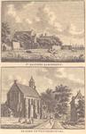 1544 1 't Kasteel Rammekens 2 De kerk te Westersouburg