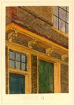 1647 Gedeelte van een gevel - Sarazynstr [Sarazijnstraat] Vlissingen