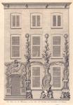 1753 het huis met de illuminatien van den heer Mr Pieter van Goethem Oud Schepen