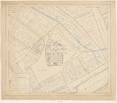 1789 Plattegrond der St. Jacobskerk en haar omgeving te Vlissingen