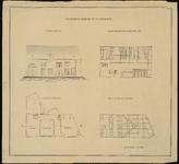 1813 Bouwtekening Stadswaaggebouw Lepelstraat